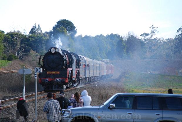 warragul citizen steamrail snow train july 2013 1 by william kulich